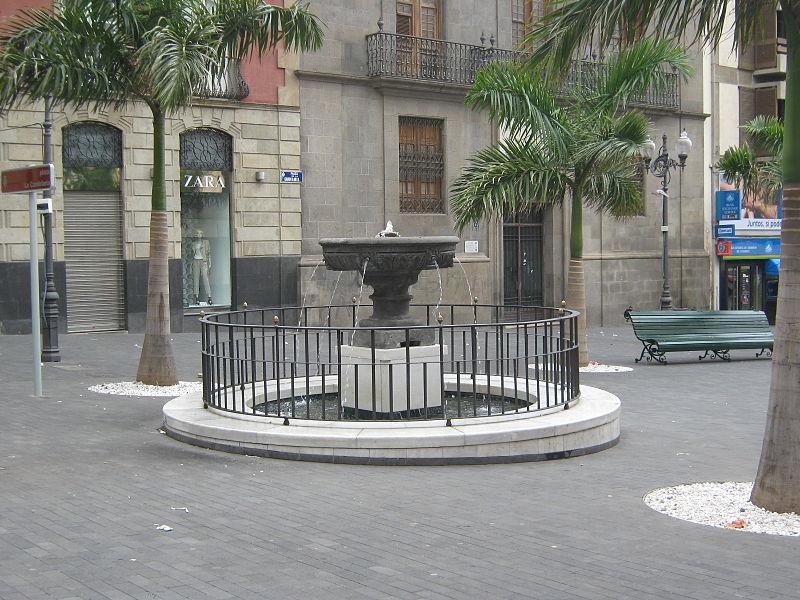 Fuente de La Plaza de Candelaria. Foto: Jorge Río