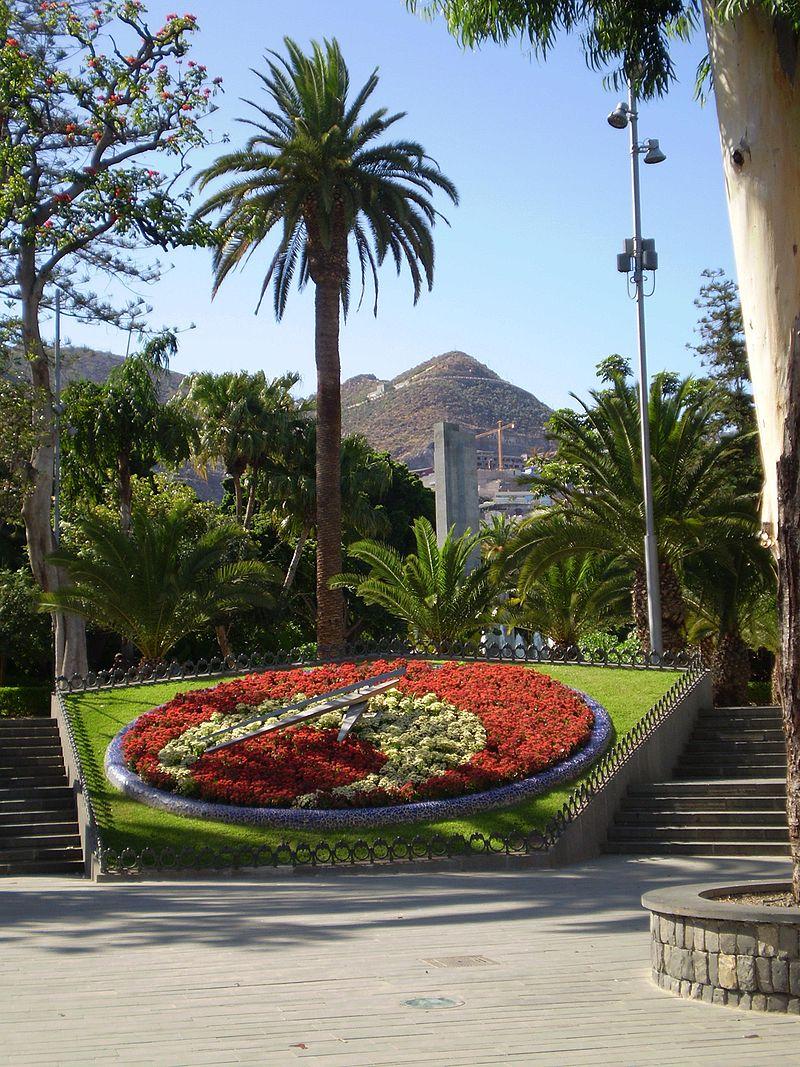 Reloj de Flores. Foto: Mª. C. Mingorance Rodríguez
