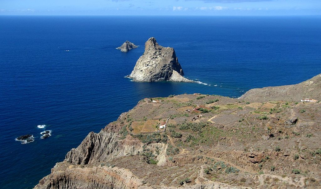 Caserío Las Palmas (Anaga). Foto vía Wikipedia Commons: @Mataparda