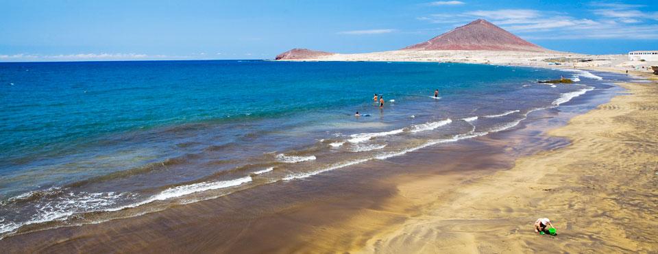 Playa del Médano. Vía WebTenerife.com