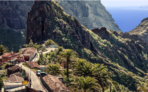 Ruta del descenso del barranco de Masca en Tenerife
