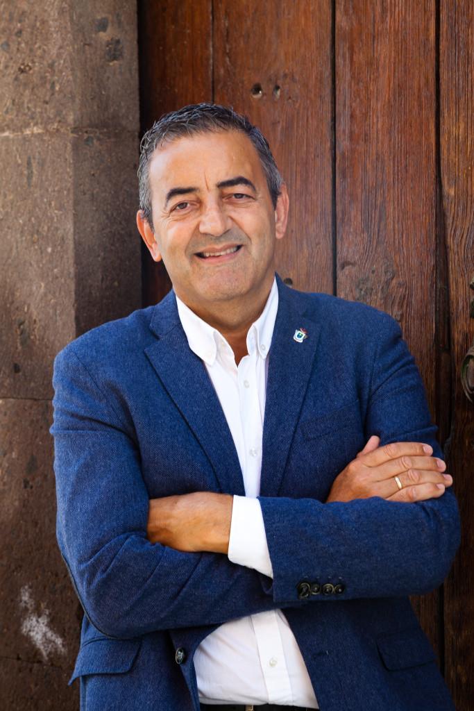 Sebastián Martín, candidato de Arico Primero a la alcaldía de Arico (Tenerife)