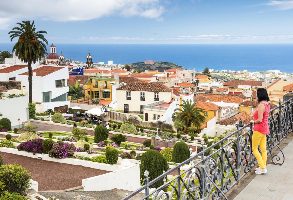 Vistas a La Orotava. Tenerife