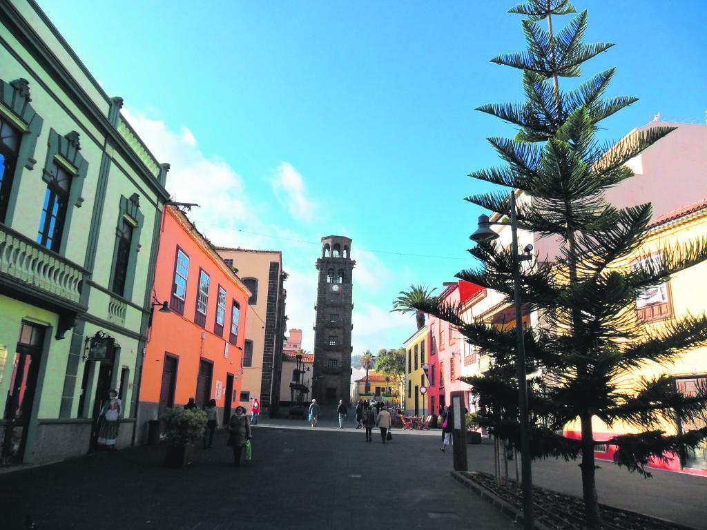 Casco histórico de La Laguna. Tenerife