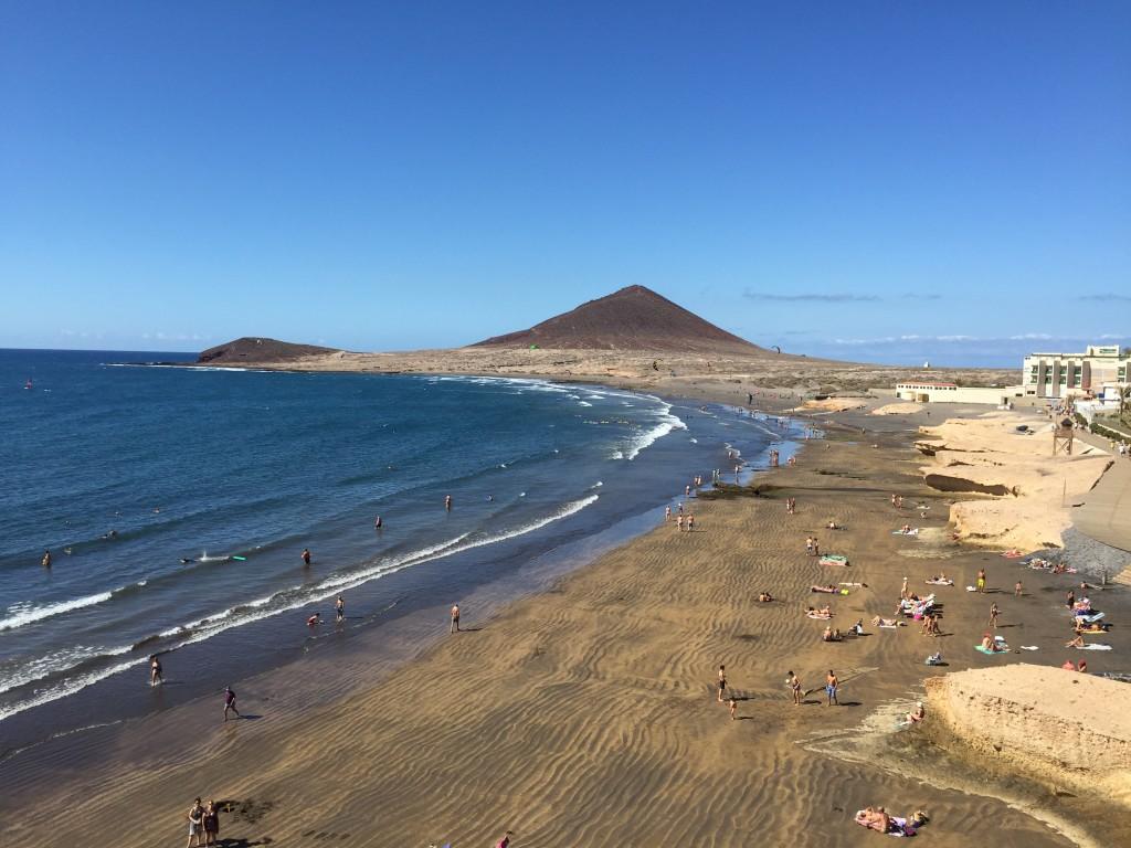 El Médano. Playa